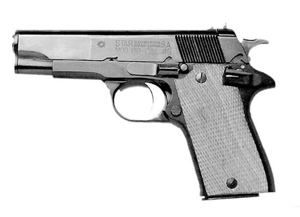 """Пистолеты  """"Стар """"PD."""