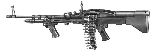 Единый пулемет М60