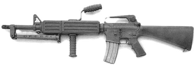 Ручной пулемет M16A2 LMG